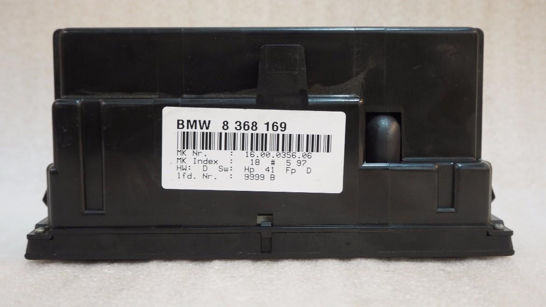 BMW E36 DIGITAL AC CONTROL PANEL / CLIMATE CONTROL UNIT
