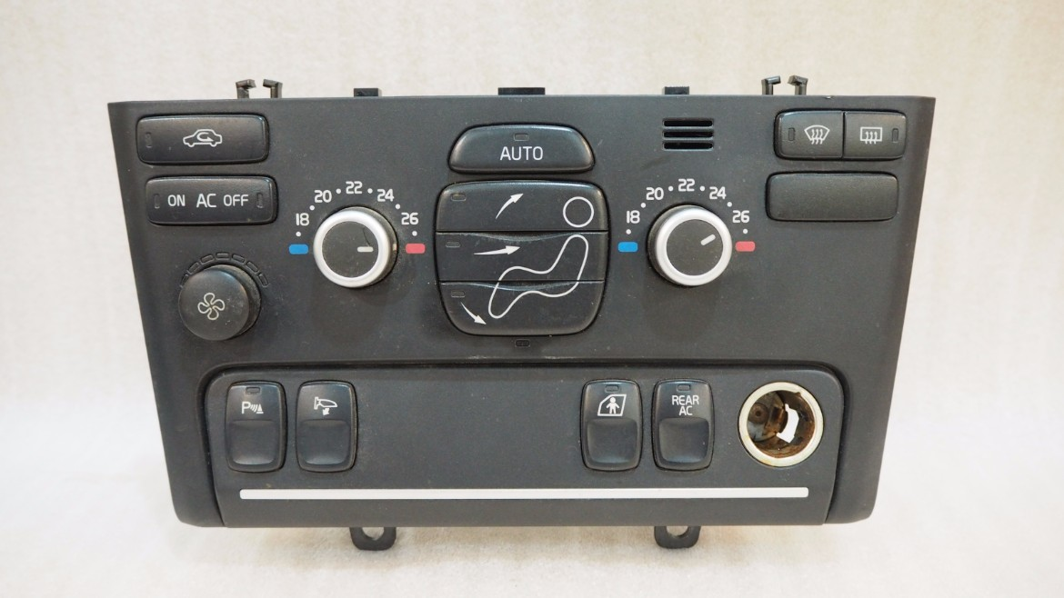 Volvo Share Price >> VOLVO XC90 CLIMATE HEATER A/C CONTROL PANEL WITH HEATED SEATS - Propel Autoparts