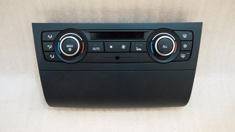 BMW E82 1 SERIES AC HEATER CLIMATE CONTROL UNIT PANEL