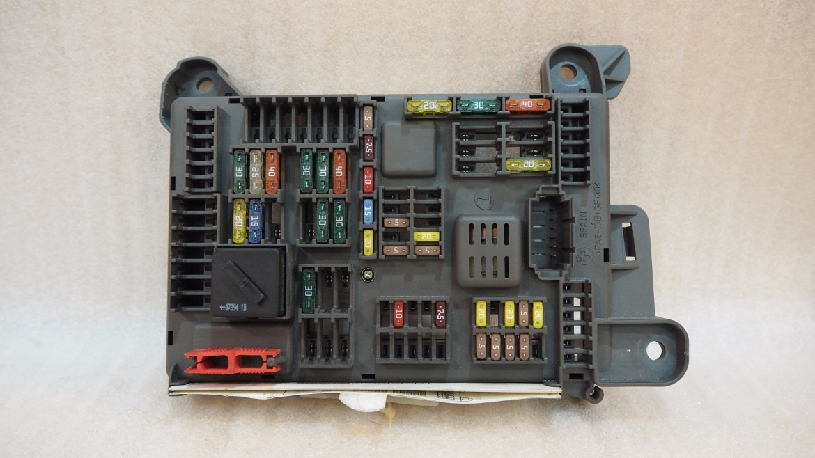 P6270116 bmw x5 e70 fuse box sam rear power distribution box propel autoparts  at fashall.co