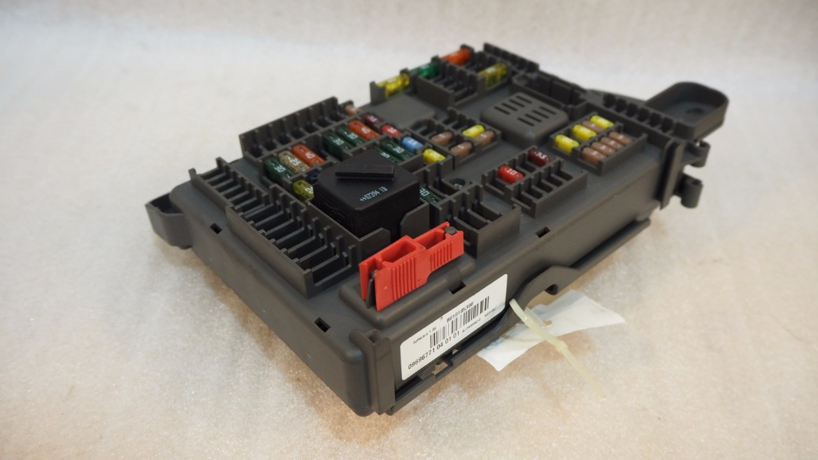 P6270118 bmw x5 e70 fuse box sam rear power distribution box propel autoparts  at n-0.co