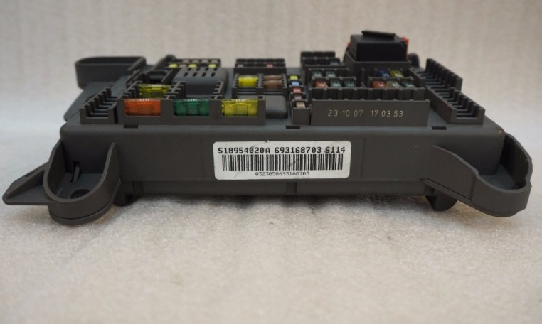 Bmw e fuse box sam rear power distribution