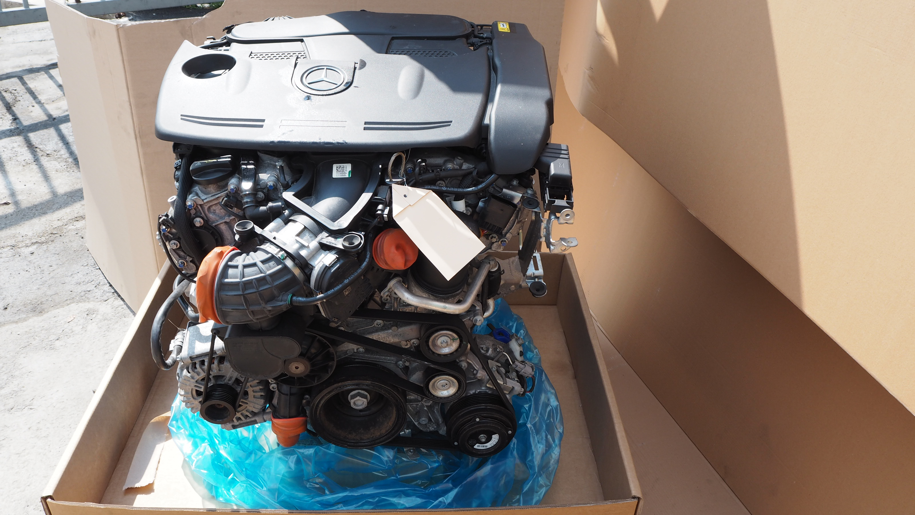 MERCEDES W218 W212 E250 2011 M276 952 4-MATIC ENGINE - Propel Autoparts
