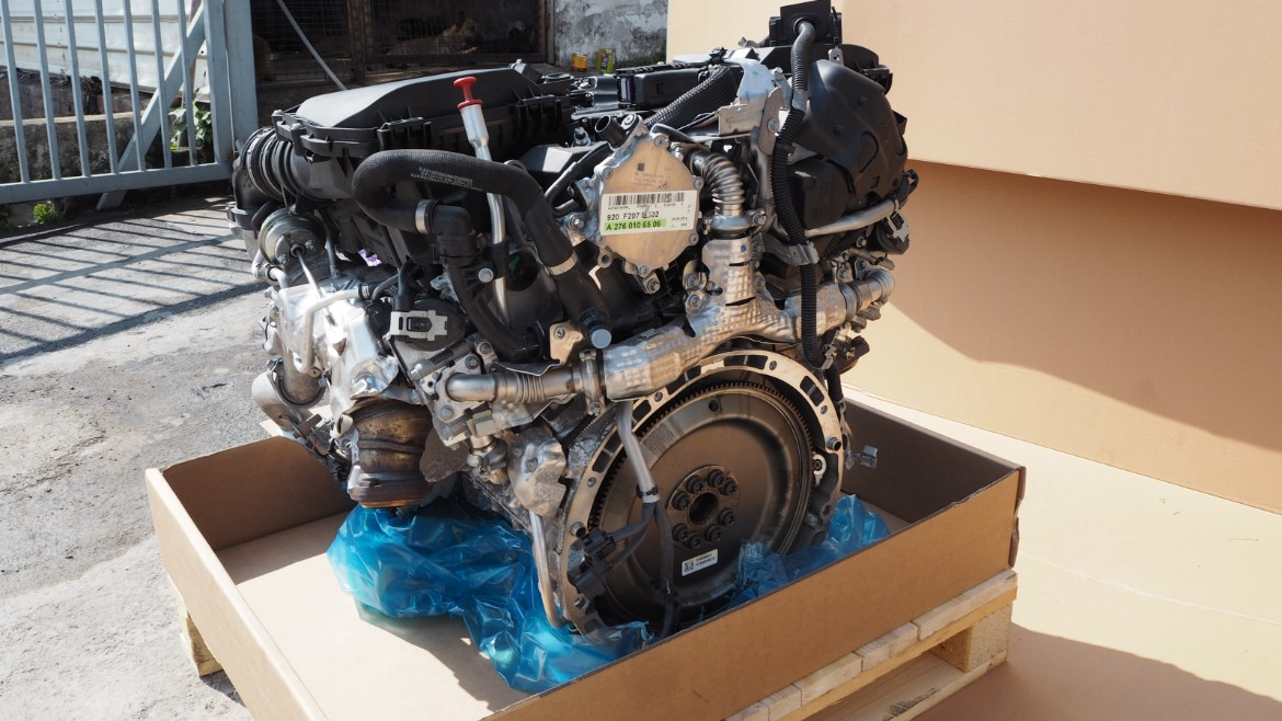 MERCEDES W218 W212 E250 2014 M276 850 TURBO ENGINE - Propel Autoparts